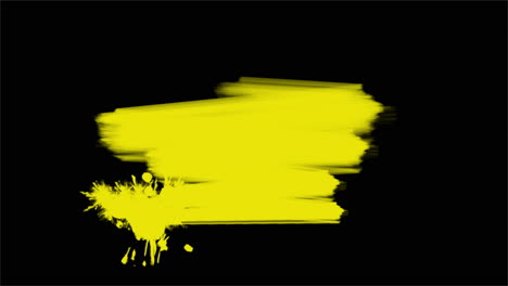 Motion-abstract-yellow-brushes-colourful-grunge-background-3