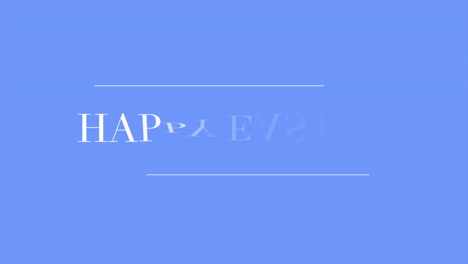 Animation-text-Happy-Easter-on-blue-fashion-and-minimalism-background-1