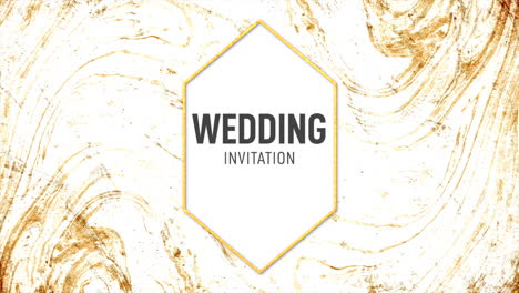 Motion-abstract-gold-splashes-and-text-Wedding-Invitation-colourful-grunge-background