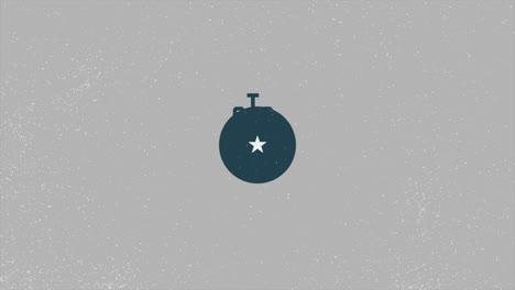 Animación-Texto-Día-De-La-Victoria-Sobre-Fondo-Militar-Con-Avión