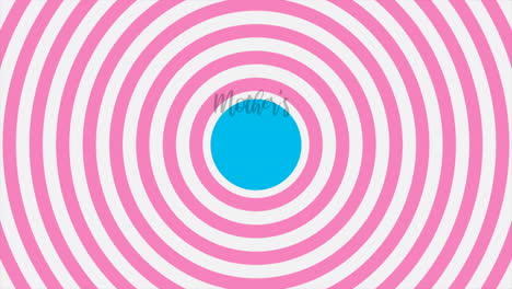 Animation-text-Mothers-Day-on-pink-fashion-and-minimalism-background-with-vertigo-spiral