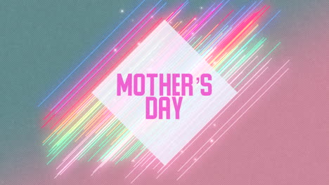 Animation-text-Mothers-Day-on-fashion-and-club-background-with-glowing-neon-lines