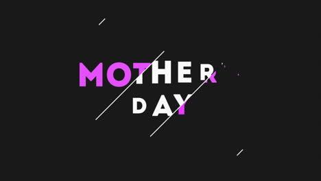 Animación-Texto-Día-De-La-Madre-Sobre-Fondo-Negro-De-Moda-Y-Minimalismo-Con-Líneas-Blancas-1