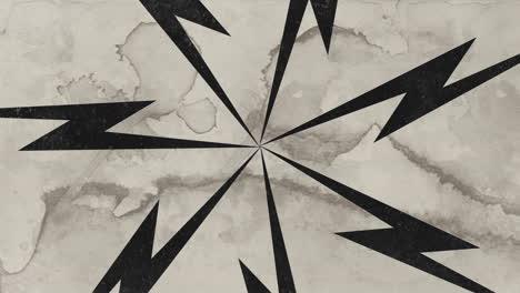 Movimiento-Abstracto-Negro-Rayos-Blanco-Grunge-Plano-De-Fondo