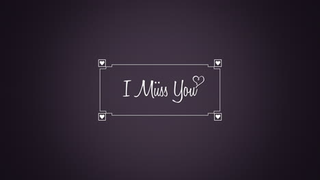 Animated-closeup-I-Miss-You-text-and-motion-romantic-hearts-with-frame-on-Valentines-day-background