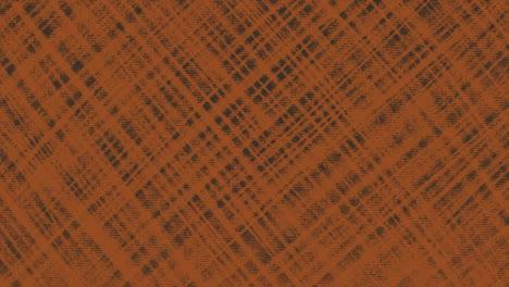 Movimiento-Abstracto-Geométrico-Líneas-Naranjas-Fondo-Textil-Negro