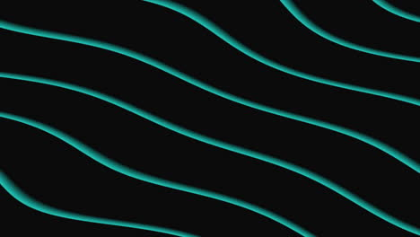Motion-abstract-geometric-green-waves-retro-background