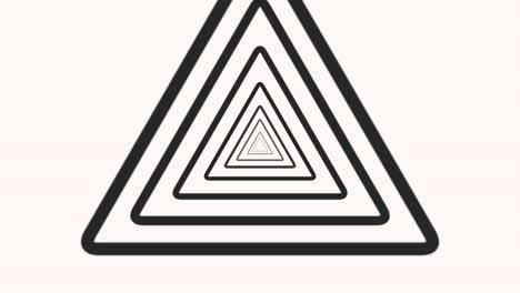 Motion-intro-geometric-vertigo-black-triangles-abstract-simple-background