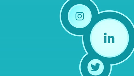 Animation-motion-icons-of-social-networks-on-simple-background-2