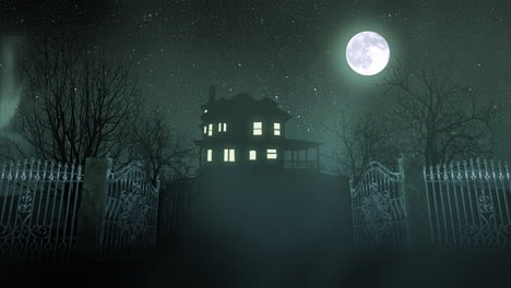 Mystical-horror-background-with-the-house-and-moon-abstract-backdrop-1