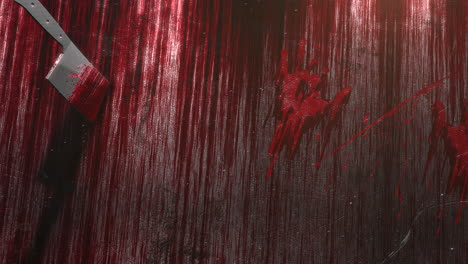 Mystical-horror-background-with-dark-blood-and-knife-abstract-backdrop