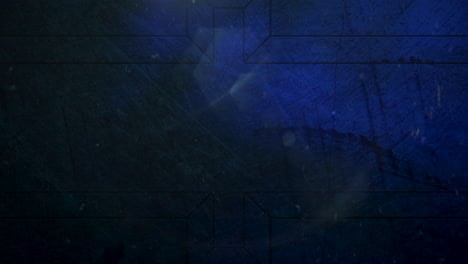 Cinematic-background-with-motion-blue-light-and-particles