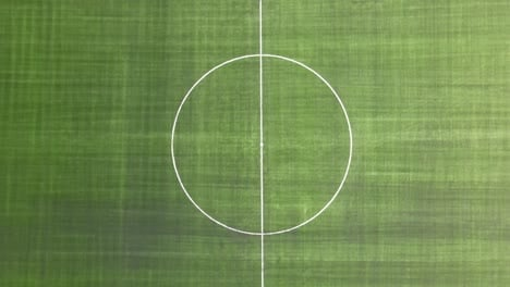 Campo-De-Fútbol-Verde-Drone