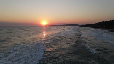 Sunrise-Sea-Aerial-View