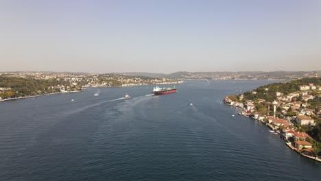Vista-De-La-Ciudad-Estambul-Bósforo
