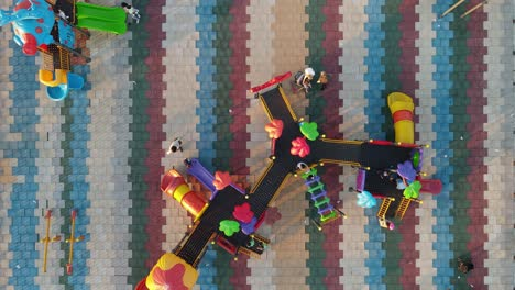 Aerial-View-Children-Playground-Park