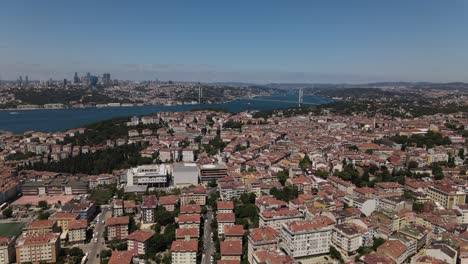 Bosphorus-Istanbul-Aerial-View