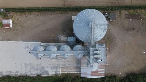 Farm-Silo-Aerial-Drone