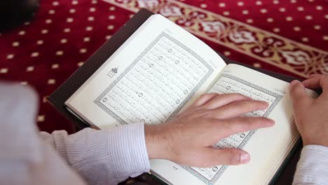Young-Muslim-Man-Reading-Quran-In-Mosque-3