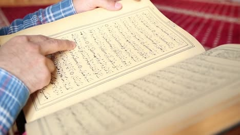 Young-Muslim-Man-Reading-Quran-In-Mosque-18