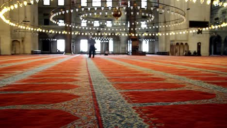 Muslims-In-Mosque-For-Salah