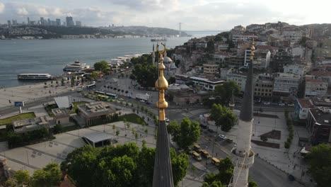 Islamic-Mosque-Minaret-Aerial-Drone