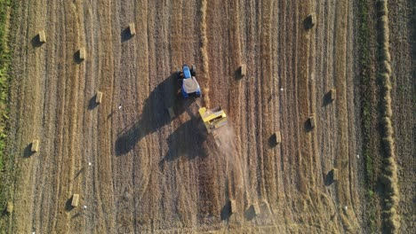 Harvest-Time-Agriculture-Aerial-Drone