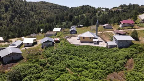Aerial-View-Rural-Village