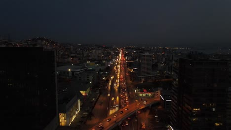 Tráfico-Nocturno-De-Drones-Aéreos-1