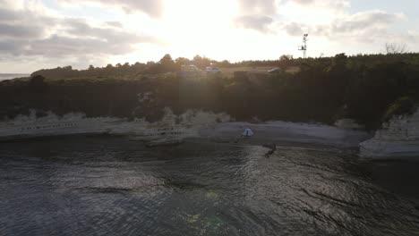 Sunset-Coast-Drone