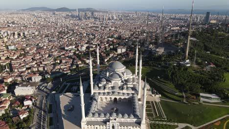 Istanbul-Camlica-Mosque-Aerial-Drone