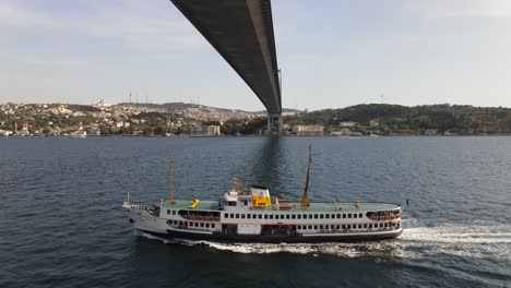 Ferry-Boat-Istanbul-Symbol-Aerial-View