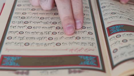 Reading-Quran-Word-In-Mosque-With-Finger-1
