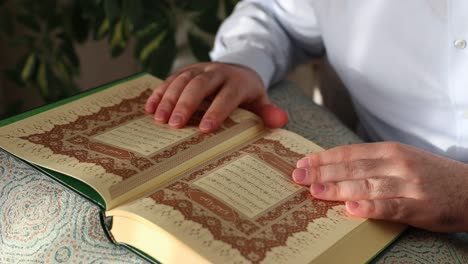 Muslim-Man-Reading-Holy-Quran