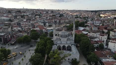Islamic-Yeni-Valide-Mosque-Uskudar-Of-Istanbul
