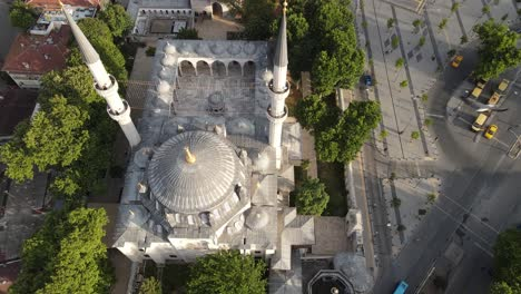 Aerial-View-Yeni-Valide-Mosque-Istanbul