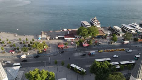 Islamic-Mosque-Uskudar-Of-Istanbul-Aerial-View-1