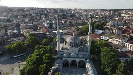 Yeni-Valide-Mosque-Istanbul-Drone-Aerial