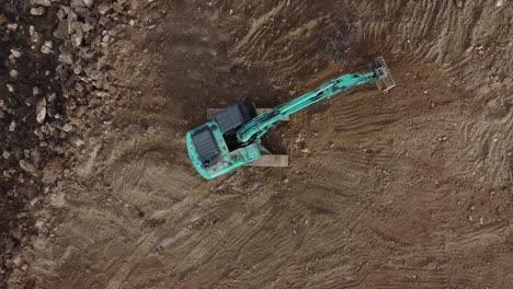 Drone-Shot-Heavy-Equipment-Operator