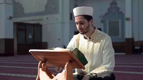 Imam-Reading-Quran-In-Mosque