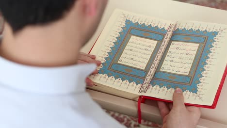 Young-Muslim-Reading-Quran-In-Mosque-2