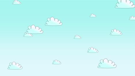 Cartoon-Animationshintergrund-Mit-Bewegungswolken-3
