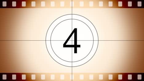 Motion-retro-film-countdown
