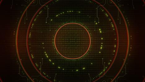 Fondo-Cyberpunk-Con-Círculos-De-Computadora-En-Espiral