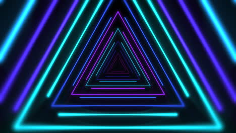 Motion-colorful-neon-triangles-1