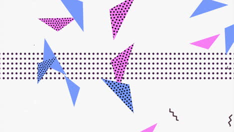 Motion-abstract-geometric-triangles-and-dots