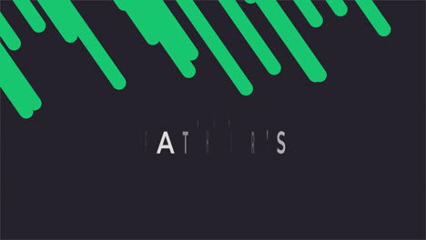 Animation-text-Fathers-day-on-black-fashion-and-minimalism-background-with-green-geometric-lines