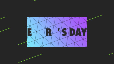Animation-text-Fathers-day-on-black-fashion-and-minimalism-background-with-geometric-triangles