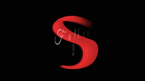 Animation-intro-text-Fathers-day-on-red-fashion-and-brush-background-1