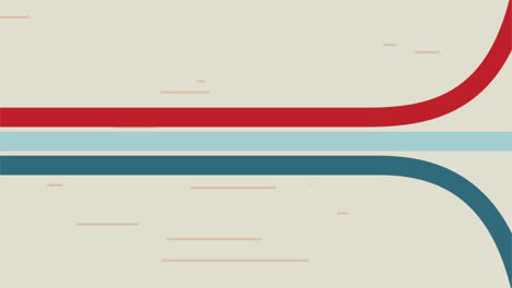 Motion-abstract-geometric-blue-and-red-lines